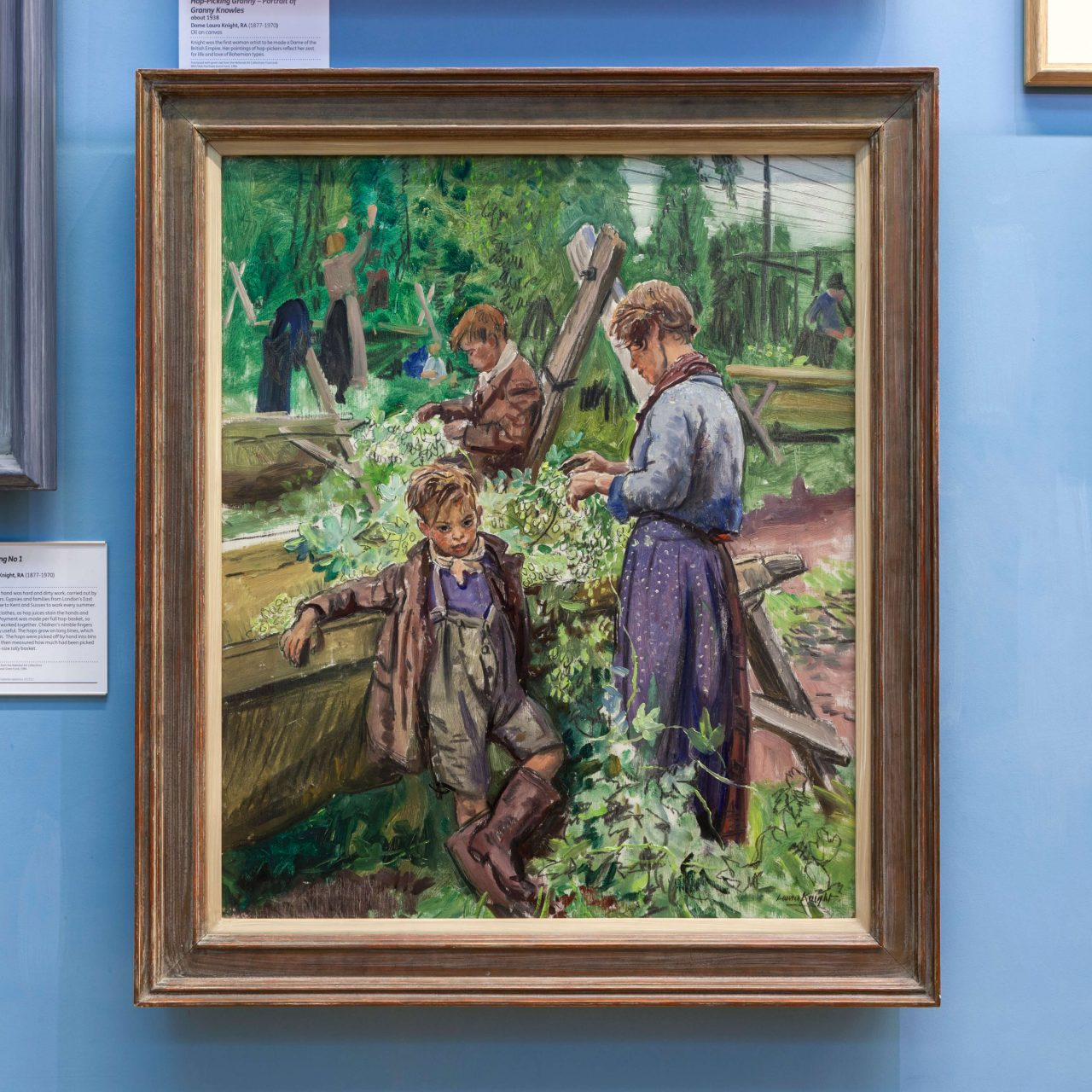 Hop picking no 1 painting 100 objects that made kent hop picking no 1 painting thecheapjerseys Images